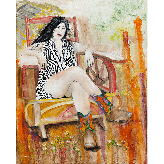 Daddy's Chair - Giclee Print